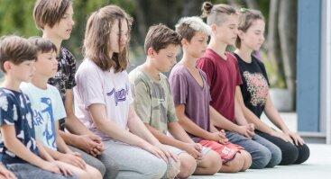 """Vaikų ir jaunimo dienos stovykla """"Pažink save"""" Klaipėdoje"""