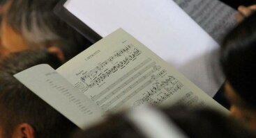 """VU chorų koncertas: programoje ir klasika, ir kompozicijos iš """"Žiedų valdovo"""""""