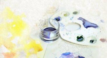 Akvarelė ir vaizduotė su Sigute Ach
