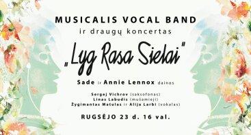 """""""MUSICALIS VOCAL BAND"""" ir draugų koncertas"""