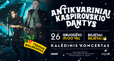 Antikvariniai Kašpirovskio Dantys, kalėdinis koncertas