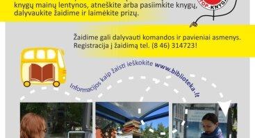 """Europos judumo savaitė Klaipėdoje: orientacinis žaidimas """"Judėk su knyga""""!"""
