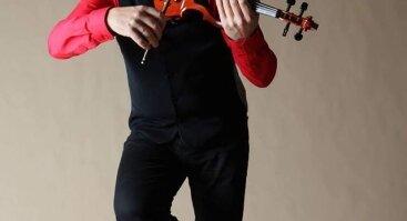 """Romantiškas smuiko vakaras """"Meridiane"""""""