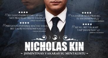 Įsimintinas vakaras su mentalistu Nicholu Kin
