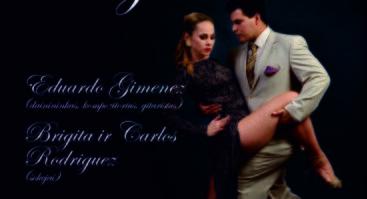 """Muzikos ir šokio sintezė """"Tango Argentino"""""""