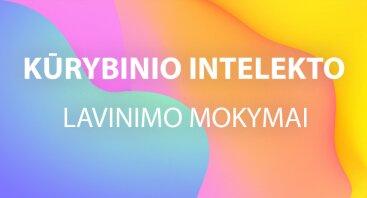 Kūrybinio Intelekto lavinimo kurso pristatymas