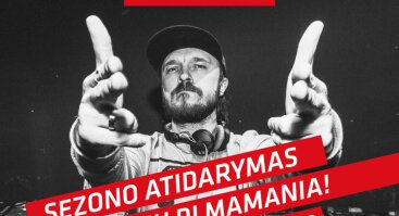 OlyBet Sporto baro sezono atidarymas su DJ Mamania