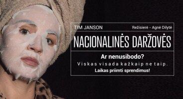 """Virtualus spektaklis """"Nacionalinės daržovės"""""""