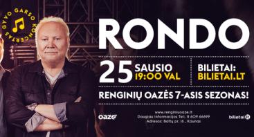 Rondo, gyvo garso koncertas