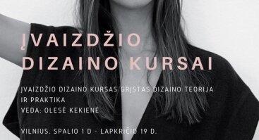 Įvaizdžio dizaino kursai su Olese Kekiene
