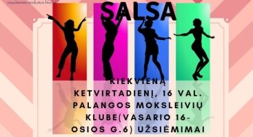 Zumba+Salsa mergaitėms