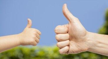 """Paskaita apie pozityvią tėvystę """"Pozityvus vaikų ugdymas - principai ir metodai"""""""