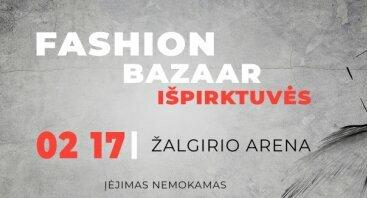 DIDŽIOSIOS Fashion bazaar Išpirktuvės
