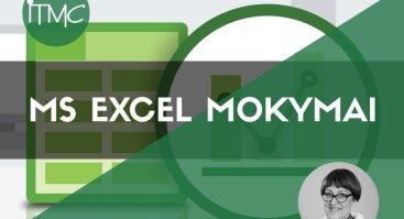 Lentelės MS Excel