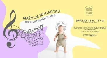 """Koncertas kūdikiams """"Mažylis Mocartas"""""""