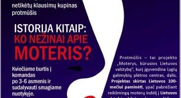 Protmūšis Lietuvos 100-mečiui paminėti