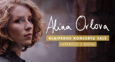 Alina Orlova / naujausio albumo pristatymas