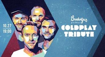 Gyvas šeštadienis: Coldplay Tribute