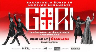 Sakartvelo šokių ir muzikos ansamblis GORI | Šiauliai