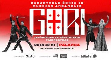 Sakartvelo šokių ir muzikos ansamblis GORI | Palanga