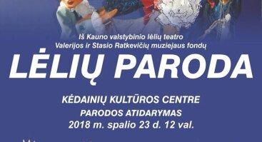 Kauno valstybinio lėlių teatro išvažiuojamoji lėlių paroda