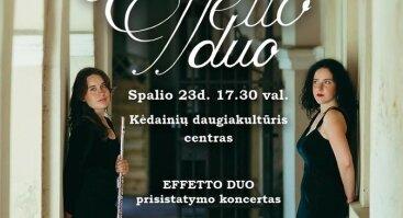 """""""Effeto duo"""" koncertas"""