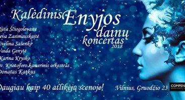 Kalėdinis Enyjos dainų koncertas 2018