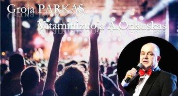 """Vakaras su grupe """"Parkas"""" ir A. Orlausku"""