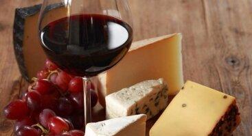 Itališko Sūrio Ir Vyno Derinimo Degustacija