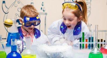 Vaikų užsiėmimai išradėjams ir tyrinėtojams