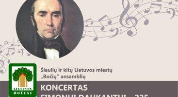 "Koncertas ""Simonui Daukantui – 225"""