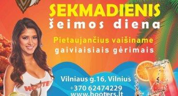 SEKMADIENIAIS HOOTERS VAIŠINA