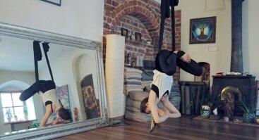 Atpalaiduojanti oro joga vakarais