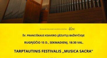 "Tarptautinis festivalis ""Musica sacra"""