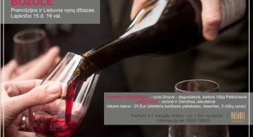 Božolė. Prancūzijos ir Lietuvos vynų džiazas