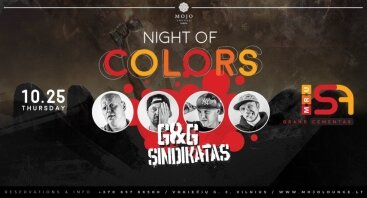 "MRU Grand cementas ""Night of Colours"""