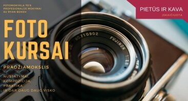 Fotografijos kursai Vilniuje