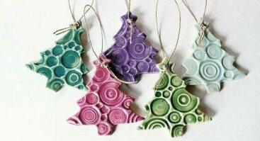 Ruošiamės Kalėdoms - Keramikinių žaisliukų gamyba.