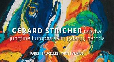 Gérard Stricher tapyba: jungtinė Europos šalių galerijų paroda