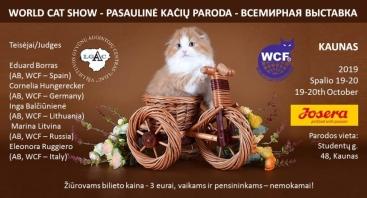 Pasaulinė kačių paroda