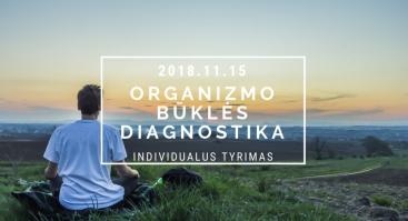 Organizmo būklės diagnostika