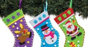 Kalėdinių kojinių gamyba