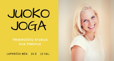 Juoko Joga Vilniuje