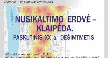 Nusikaltimo erdvė – Klaipėda. Paskutinis XX a. dešimtmetis