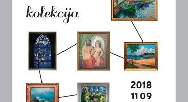 """Galerijos """"Aukso pjūvis"""" meno kūrinių kolekcija"""