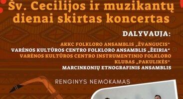 Šv. Cecilijos ir muzikantų dienai skirtas koncertas