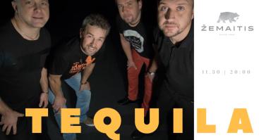 Grupė Tequila restorane Žemaitis