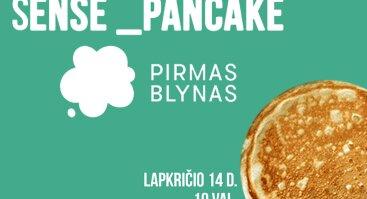 Sense_pancake @Pirmas blynas