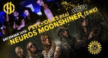 Neuros Moonshiner {swe} + PsycHolies [ita}