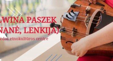 Lenkiško folkloro koncertas su Malwina Paszek